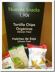Chips en Starbucks
